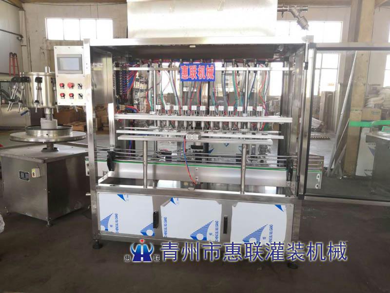 xiaodu液洁厕灵灌装机(腐蚀性液ti)