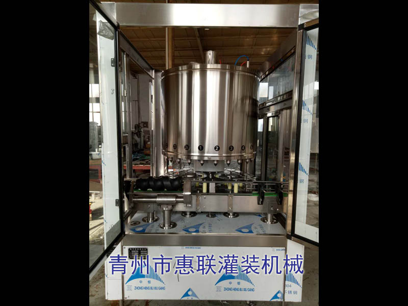 HLDZ-24xing电子定量白酒灌装机械